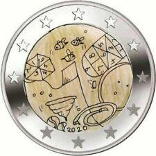 2 euro commémorative UNC Malte 2020 Jeux-Solidarité avec les Enfants Malta