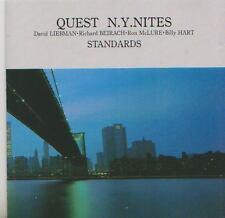 QUEST CD N.Y. NITES  STANDARDS  DAVID LIEBMAN  BEIRACH  MCLURE  HART