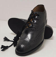 Scottish Ghillie Leather Kilt Brogues Shoes Rubber sole quality shoe all sizes