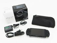 Sony PSP 3000 Launch Edition Black Handheld System Console Japan [Excellent]