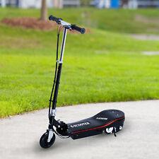 Aosom 120W Folding Kids Electric Scooter Adjustable T-bar Motorized E-Bike