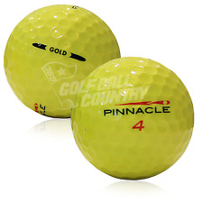 24 Pinnacle Yellow Mix Aaaa Near Mint Used Golf Balls - Free Shipping