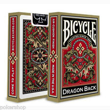 Carte Bicycle Dragon Gold Back