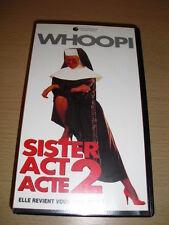 Sister Act, acte 2 VHS Whoopi Goldberg