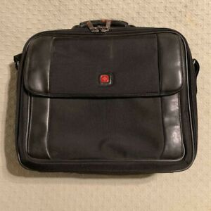 Wenger Swiss Army Gear Laptop Briefcase Luggage Carry On Bag EUC