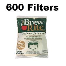 "3.5"" Disc Coffee Filter for Melitta 628354 (Package of 600)"