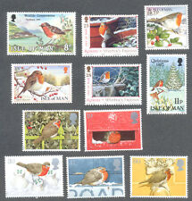 Robins-Birds collection Great Britain + Isle of Man mnh(11)