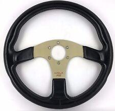 Italvolanti Imola RS  leather steering wheel. Genuine. Classic retro. RARE!  8B