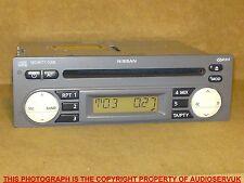 NISSAN MICRA lettore CD in grigio con codice e la garanzia. per 2003 - 2007 (K12) auto