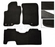 FIT FOR 2005-2010 Nissan Frontier Floor Mats Carpet Front Rear Nylon Black
