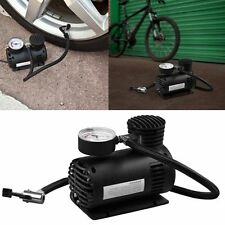 12V MINI COMPACT AIR COMPRESSOR 250 PSI CIGARETTE BIKE CAR VAN TYRE INFLATOR NEW