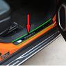 Modanature 4 Battitacco Battitacchi Plastica/acciaio nero  Jeep Renegade 14-19