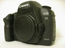 Working AS IS Canon EOS 5D Mark II 21.1MP Digital SLR Camera - Black (Body Only)