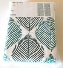 "IKEA FJADERKLINT Curtain Panel Drapes ~ Tropical Green Leaf Botanical 57"" x 98"""