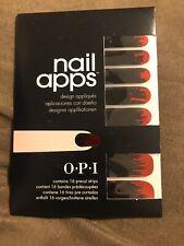 OPI Inferno Nail Apps
