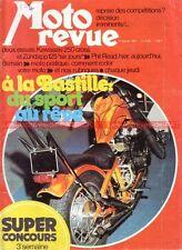 MOTO REVUE 2156 KAWASAKI KX 250 ZUNDAPP GS 125 BMW R75 GILERA Phil READ 1974