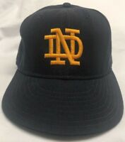 Vintage Notre Dame Cap Hat New Era 7 3/8 Pro Model Football Baseball NCAA
