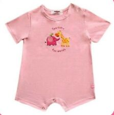 Oshkosh B'gosh Lt. Pink Too Cute for Words Romper Infant/Baby Girl Clothes, 12M