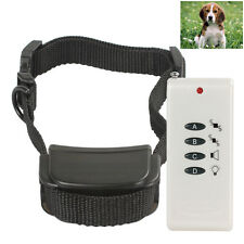 Pet Dog anti bark Training Remote Control Collar - Stop barking obedence Collar