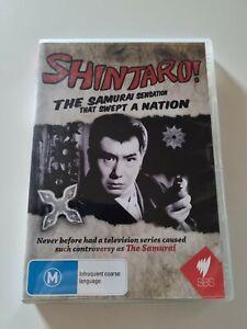 Shintaro - The Samurai Sensation That Swept A Nation region 4 DVD (documentary)