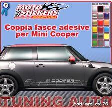 Mini Cooper - Fasce adesive a 1 colore - cod. art. cx76