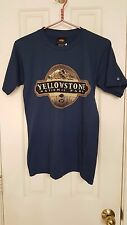 NWT Yellowstone National Park T-Shirt Size Small Ladies Harbor Blue