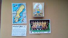 PANINI EM 92 EURO 1992 SWEDEN choose 5 Sticker aussuchen Schweden