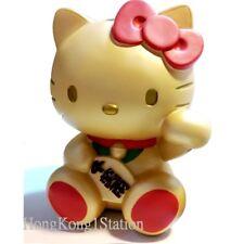 Hello Kitty Maneki Neko Coin Bank Pippy Lucky Beckoning Fortune Money Cat Gold
