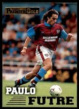 Merlin Premier Gold 1996-1997 - West Ham United Paulo Futre #152