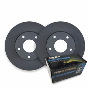 RDA FRONT DISC BRAKE ROTORS + PADS for Hyundai iLOAD TQ 2.4L 2.5TD 10/2007-2017