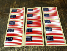 New listing Lot Of 15 American Flag Full Size Football Helmet Decals
