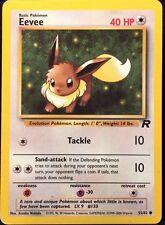 Pokemon Eevee 55/82 Team Rocket Common Card Mint