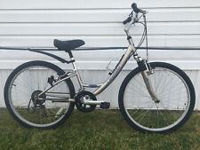"LandRider Auto-Shift Hybrid Bicycle Bike Low Step Through Women's 12"" Frame"