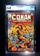 COMICS: Marvel: Conan the Barbarian #1 (1970), 1st Conan/King Kull app - CGC 6.0