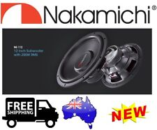 "NAKAMICHI NG112 12"" DVC 4-OHM 2000W MAX SUBWOOFER CAR AUDIO SUB NG-112 -  NEW"