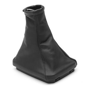 For Vauxhall Corsa C 2000-2006 Leather Gear Stick Gaiter Cover Black