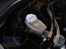 Toyota Supra JZA80 MKIV - Billet Brake & Power Steering Reservoir Cap Covers