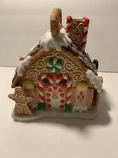 Partylite - Gingerbread House Tea Light Holder - P7304 - Christmas Village