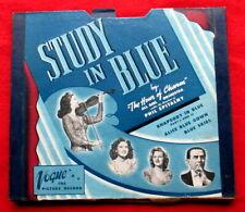 Vogue  Picture Disc Record  set  - Study in Blue   (original 1946 )