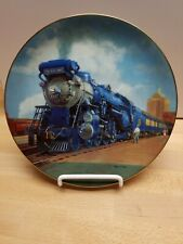 """""""The Blue Comet"""", Ted Xaras Train Collector Plate"""
