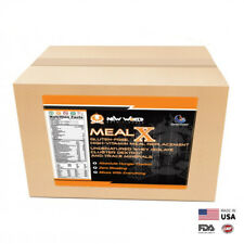 15lb MealX Bulk Meal Replacement Weight Loss Shake Gluten-Free CHOCOLATE
