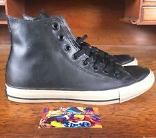 aa8301008cd6 NEW Converse Chuck Taylor All Star High Top Rubber Black Black 149458C Size  7.5