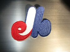 "Vintage 1970's Montreal Expos Defunct Mlb Old Logo 2 1/4"" Tall Patch"