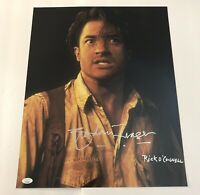 BRENDAN FRASER Signed THE MUMMY 16x20 Photo IN PERSON Autograph JSA COA