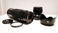 Olympus PEN OM Panasonic LUMIX Micro 4/3 M4/3 DSLR fit  300mm 900mm ZOOM lens