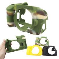 Silicone Rubber Armor Body Skin Camera Case Cover For Canon EOS 600D 650D 700D