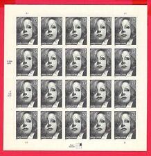 Scott #3943 Actress Greta Garbo postage stamp Sheet 20-37 cent stamps