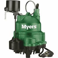 Myers 1/3 HP Residential Sump Pump