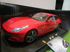 FERRARI  FF rouge au 1/18 HOT WHEELS ELITE W1105 voiture miniature de collection
