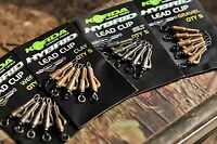 Korda Fishing Hybrid Lead Clip - Safe, Smooth Performance, All Colours Available